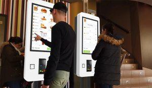Borne tactile de paiement MC Touch KFC