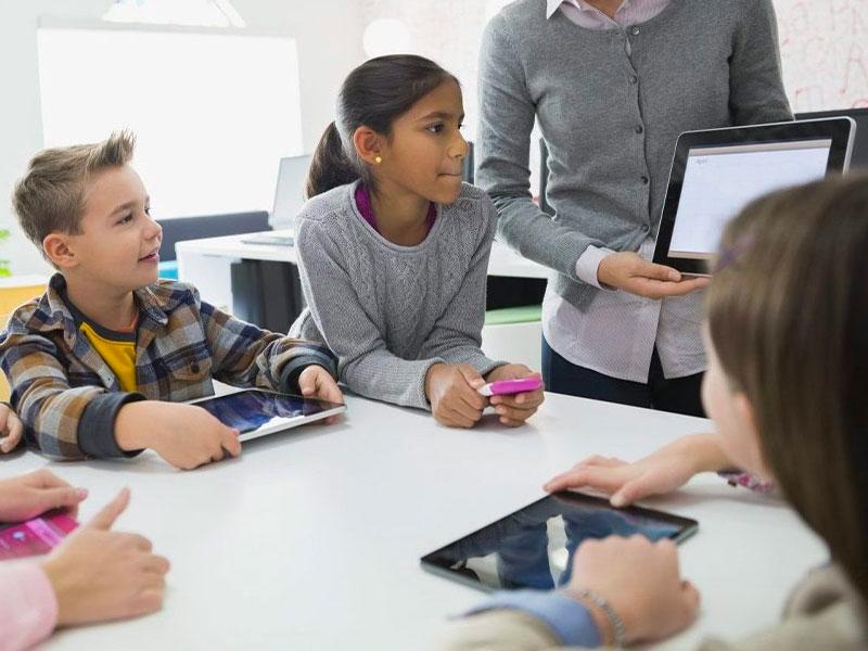 Cité éducative numérique tablette