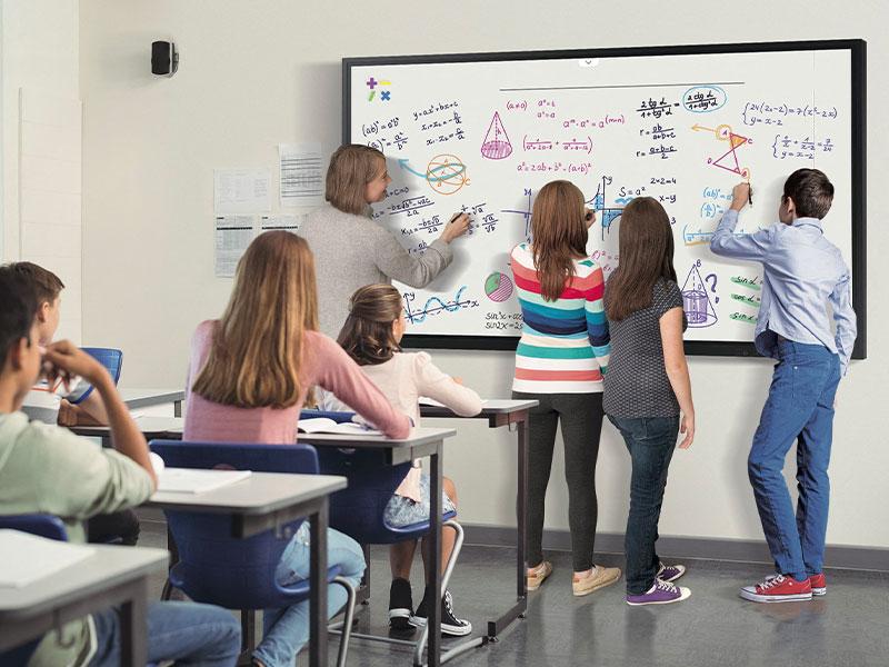 éducation numérique collège tableau interactif