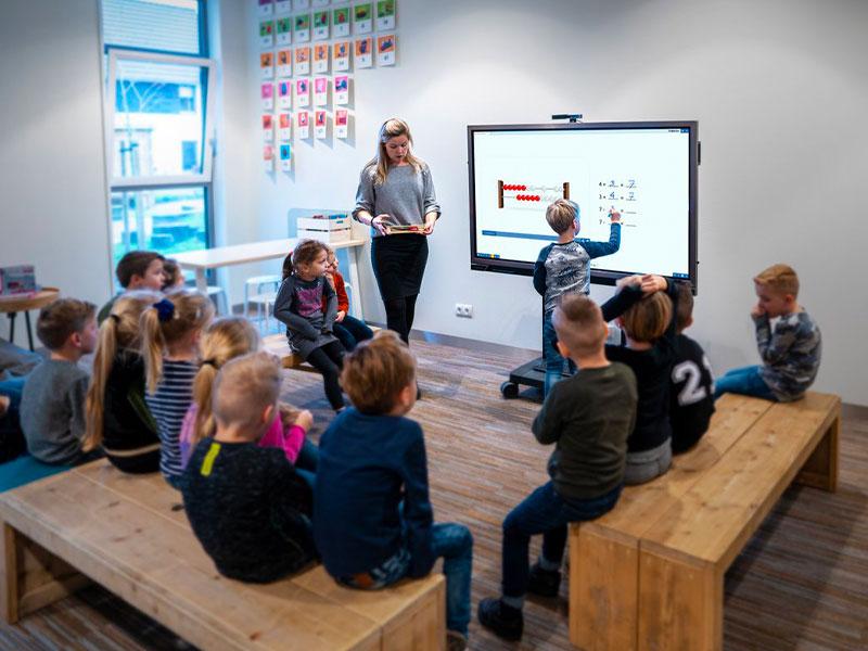 Education tableau interactif école primaire