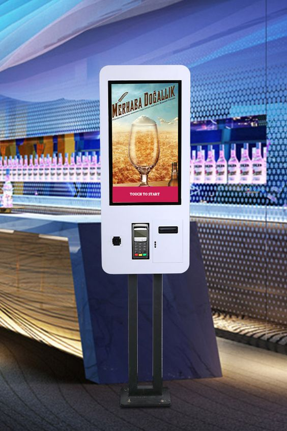 Borne tactile paiement Mc Touch bar