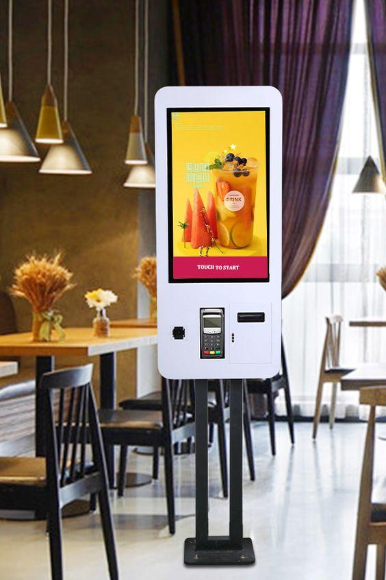 Borne tactile paiement Mc Touch restauration cocktail