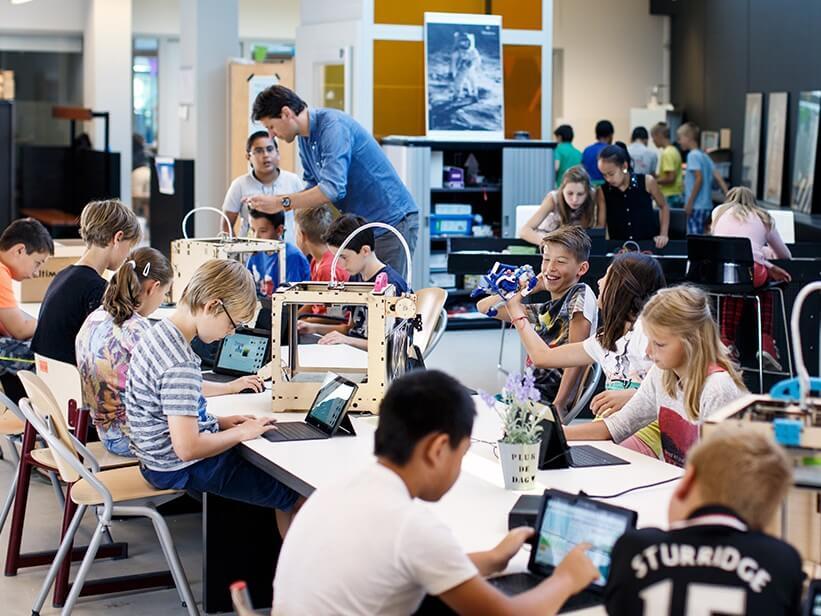 Impression 3D école enseignement technologies