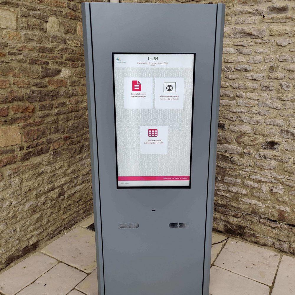 Affichage légal numérique Mairie de Mézidon