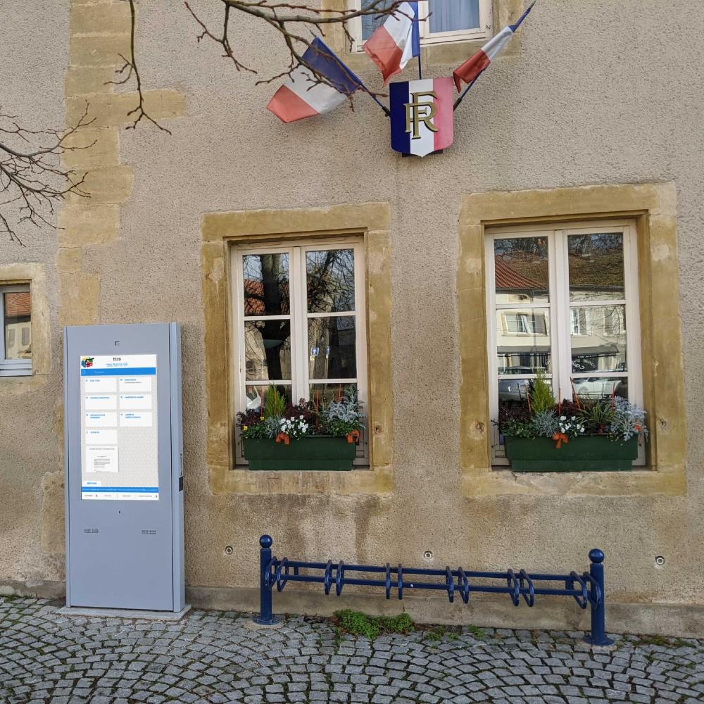 Affichage légal numérique Mairie de Ennery