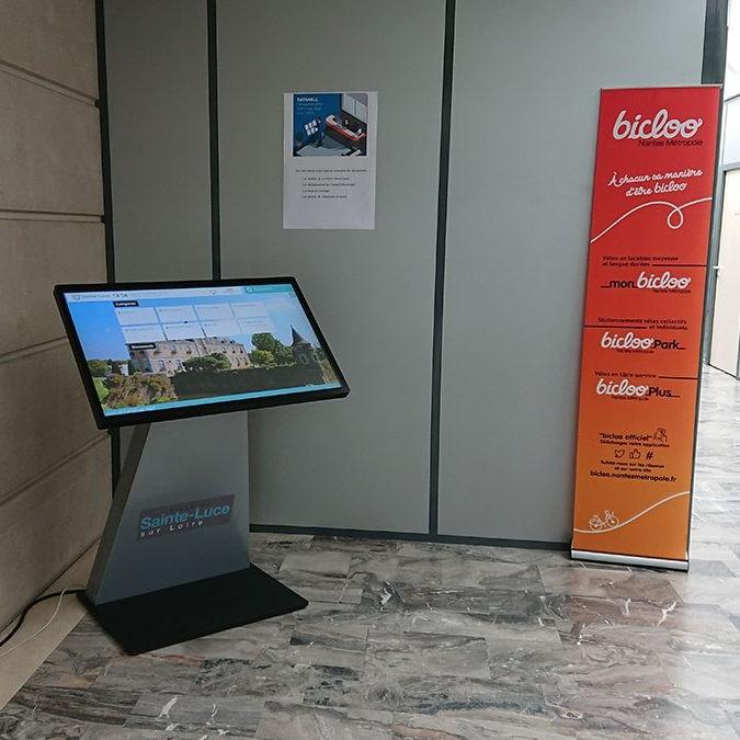 Affichage légal numérique Mairie de Sainte Luce