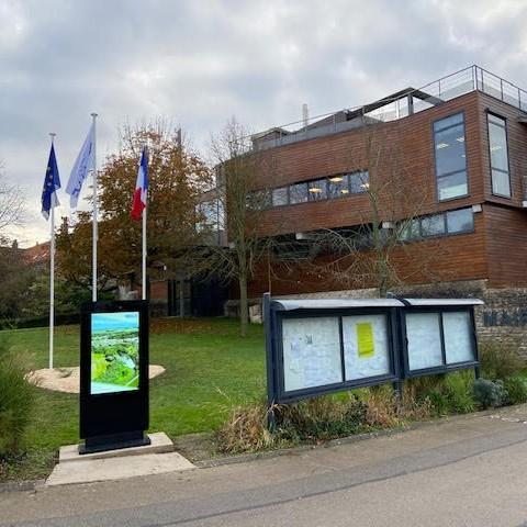 Affichage légal numérique Mairie de Wimille