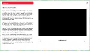 iMaps School application tactile cartographie média