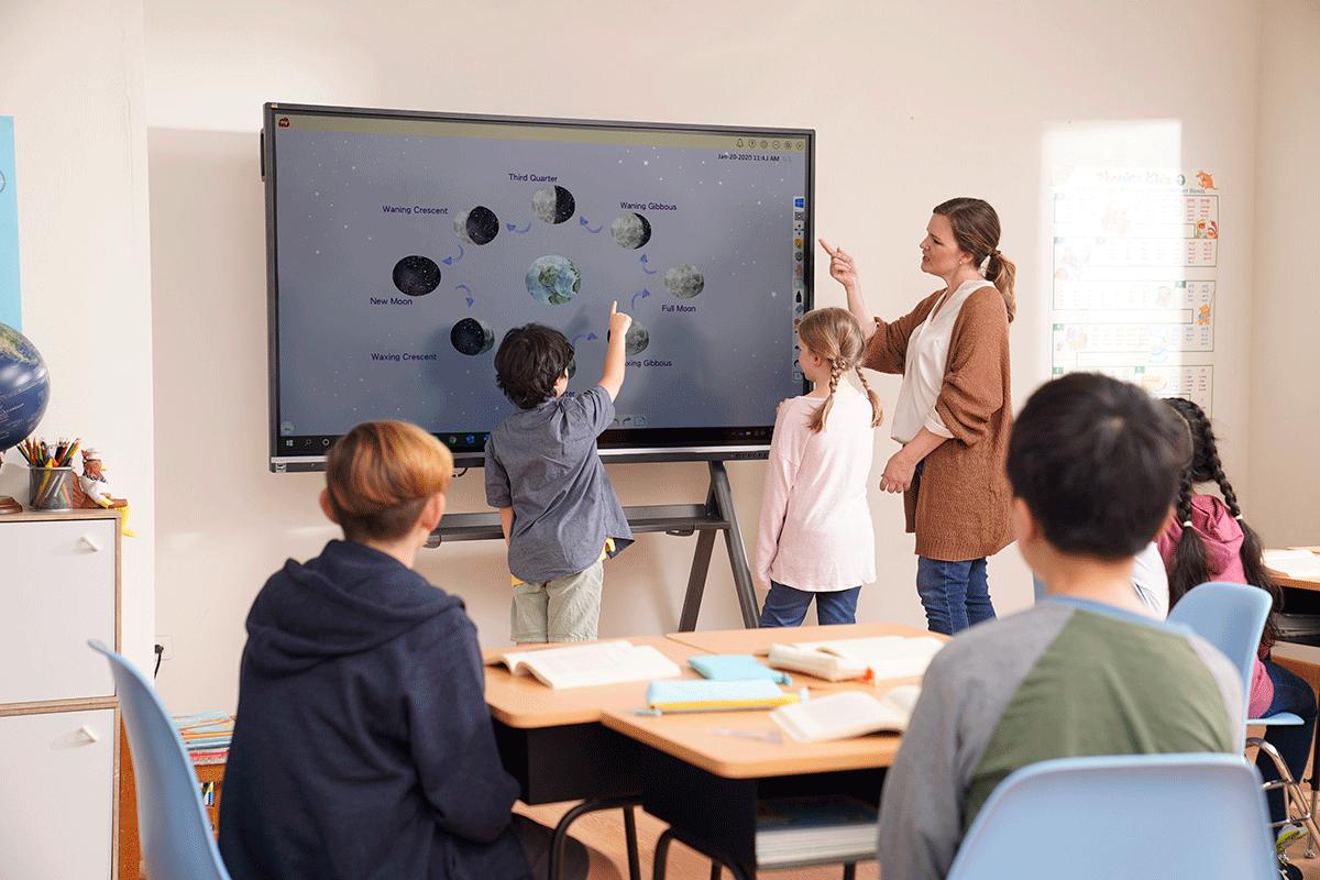 Ecran numérique interactif école primaire