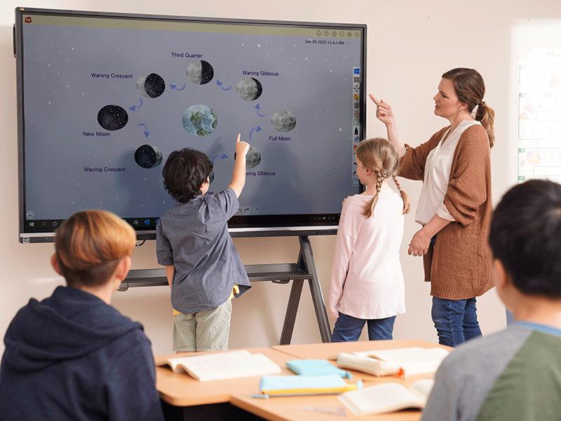 Ecran numérique interactif éducation