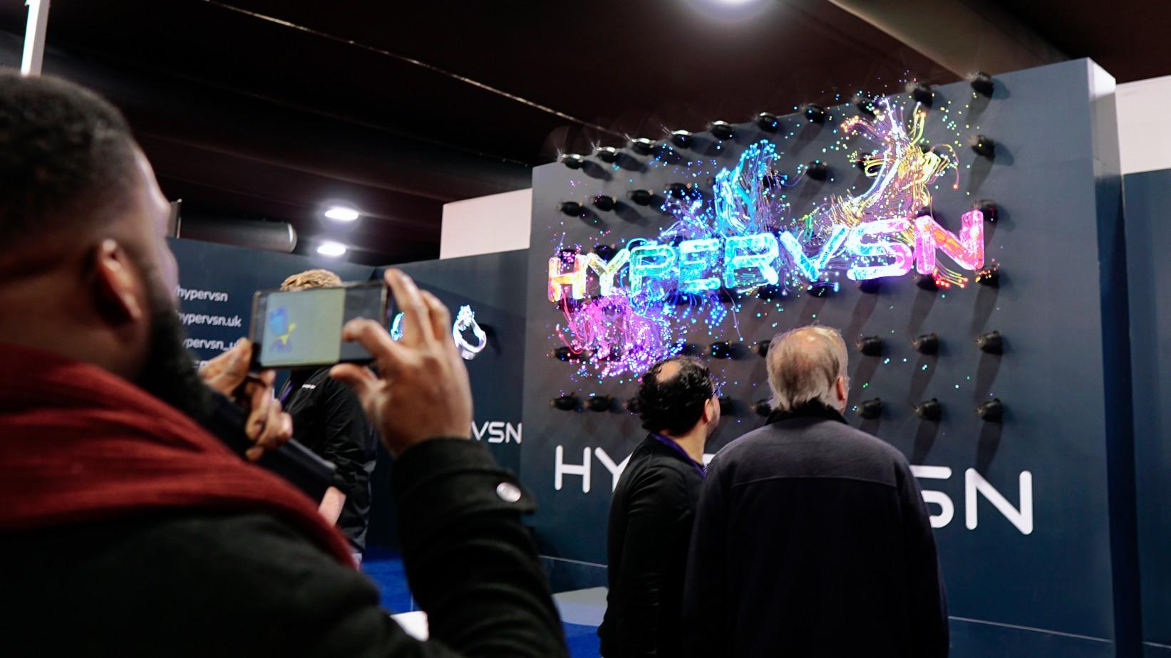 Hélice holographique 3D