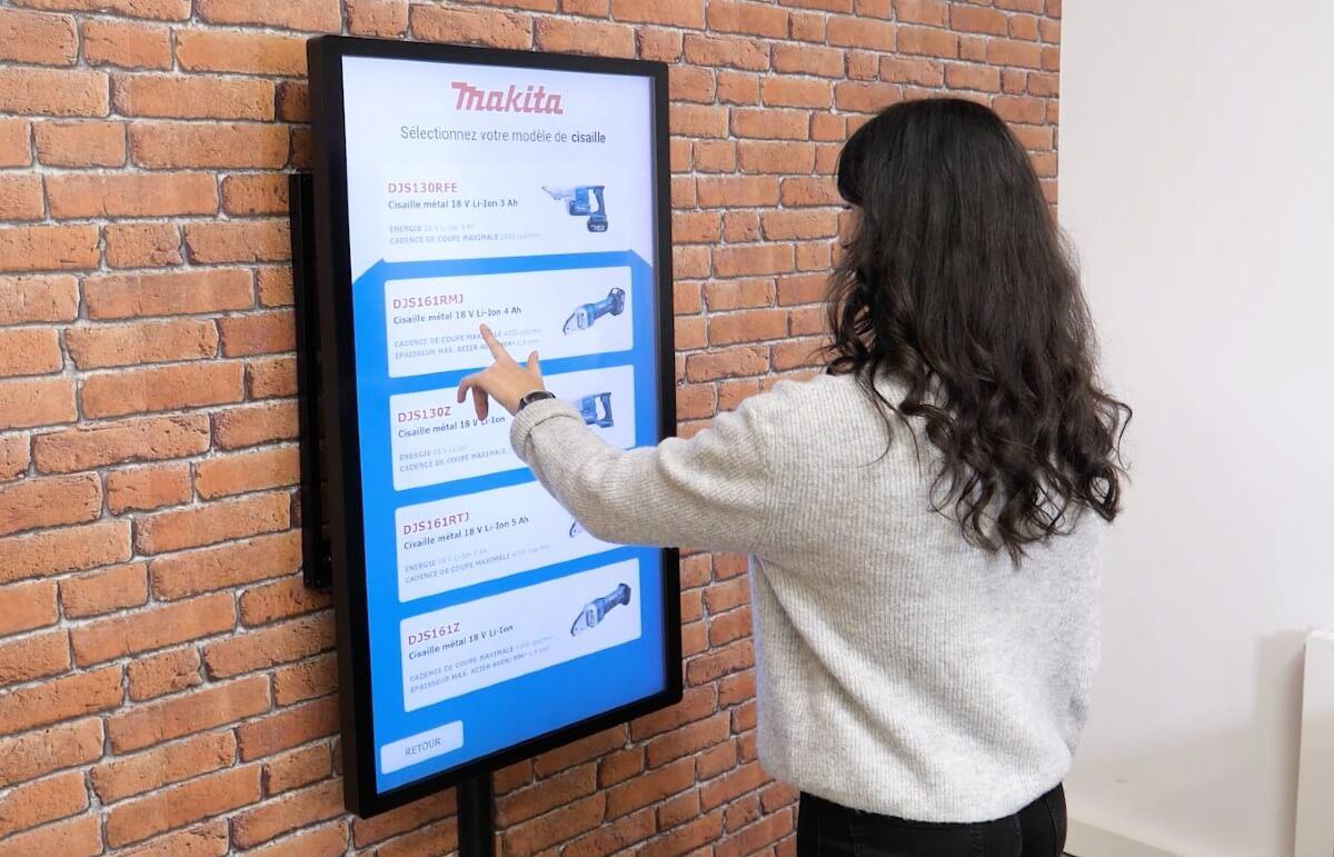Création d'applications tactiles multitouch sans programmation