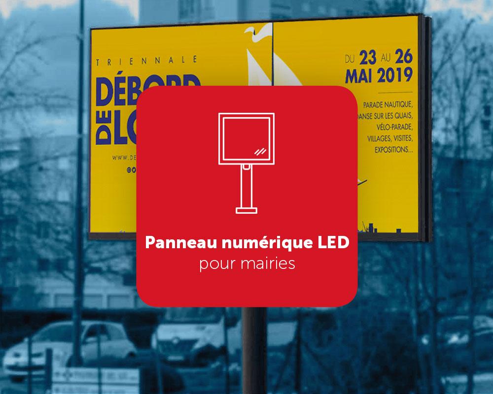 Panneau numérique LED pour mairies