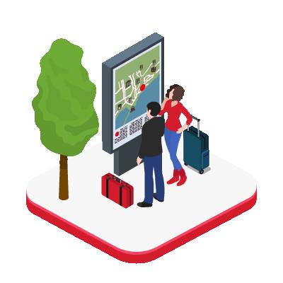 Solution digitale pour le secteur tourisme