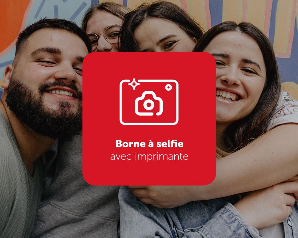 Borne à selfie