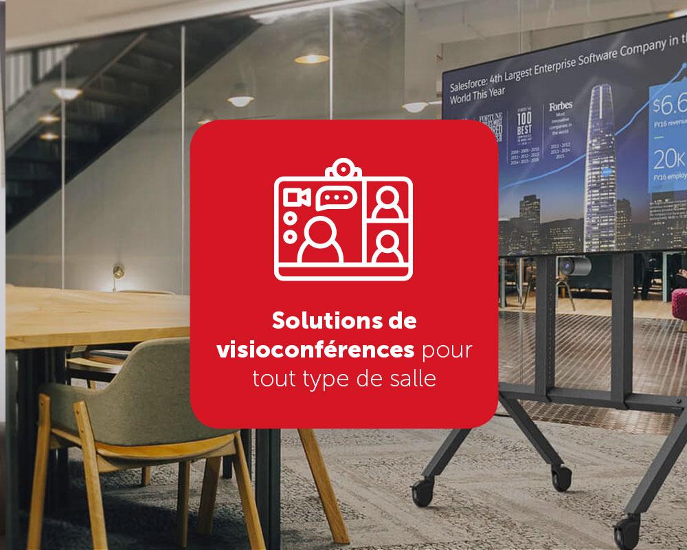 Visioconférence pour toute salle